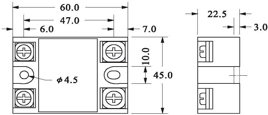 Однофазные реле AC-AC и DC-DC